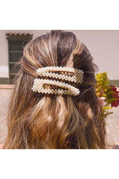 Mysoho Accessories Kadın Inicili Çıtçıtlı Pens Toka 2 Adet