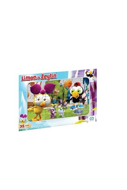 CA Games Limon Ile Zeytin 35 Parça Frame Puzzle S1