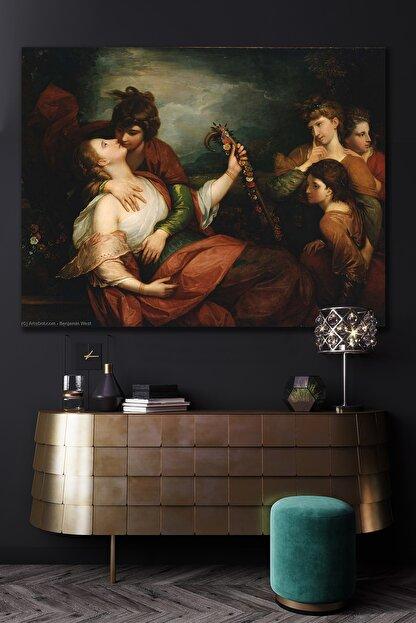 Hediyeler Kapında Rönesans Veba Kanvas Tablo 100x140
