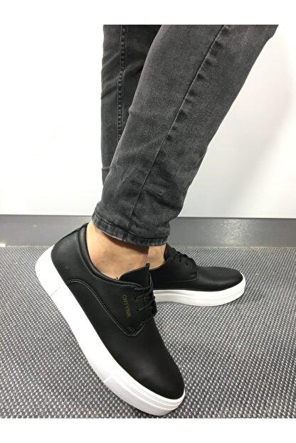 Conteyner Erkek Siyah Spor Sneaker