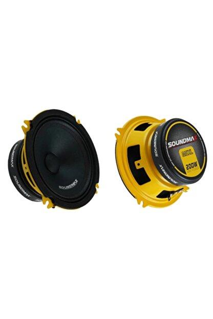 Soundmax Sx-m5xl 13 Cm Oto Hoparlör 13 Cm Midrange 200 Watt