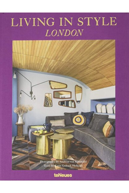 TENEUES Living In Style London Hardcover - Kitap