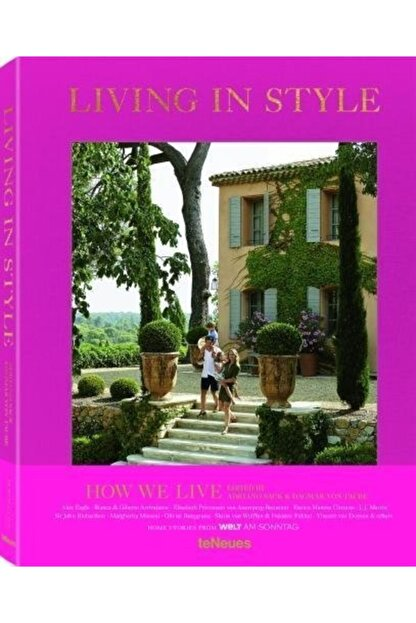 TENEUES Living In Style How We Live Hardcover - Kitap