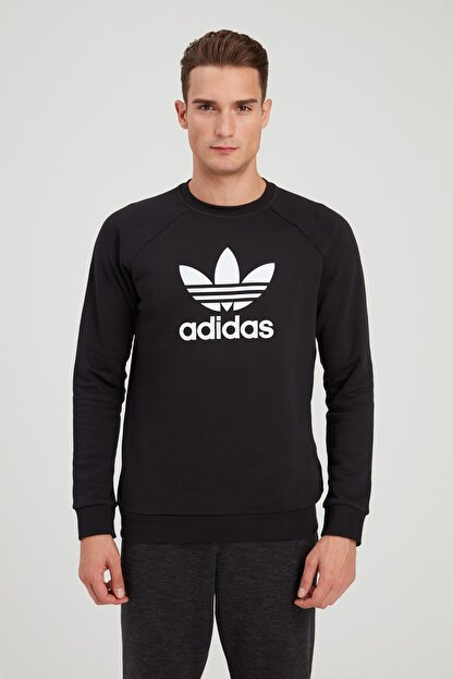 adidas Erkek Spor Sweatshirt - Trf Flc Crew