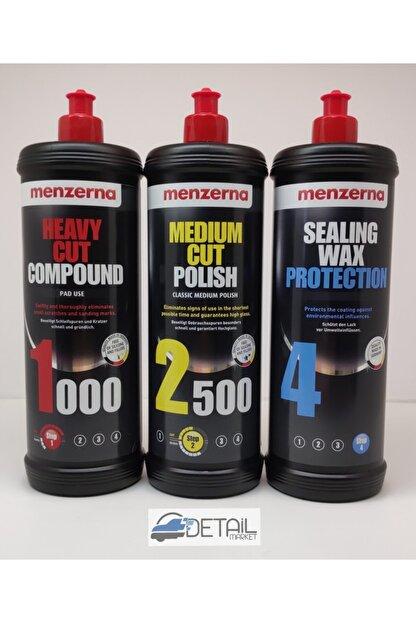 Menzerna 1000 2500 Sealing Wax Pasta Cila Seti 1 Lt