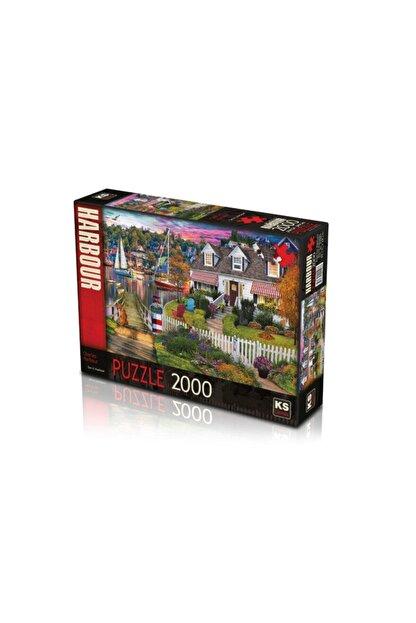 Ks Games Ks Games 2000 Parça Charles Harbour Puzzle 22507