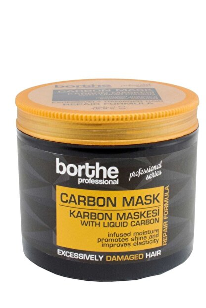Borthe Karbon Saç Maskesi 500 Ml 8681769001365