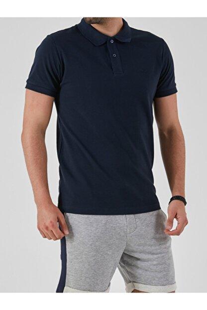 Ltb Erkek  Lacivert Polo Yaka T-Shirt 012208450860890000