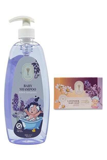 Gallipoli Lavender Lavanta Yağlı Rahatlatıcı Bebek Şampuanı 500 ml + Rahatlatıcı Bebek Sabunu 2 'li Set Bebek Seti