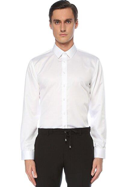 Network Erkek Beyaz Gömlek 1075275