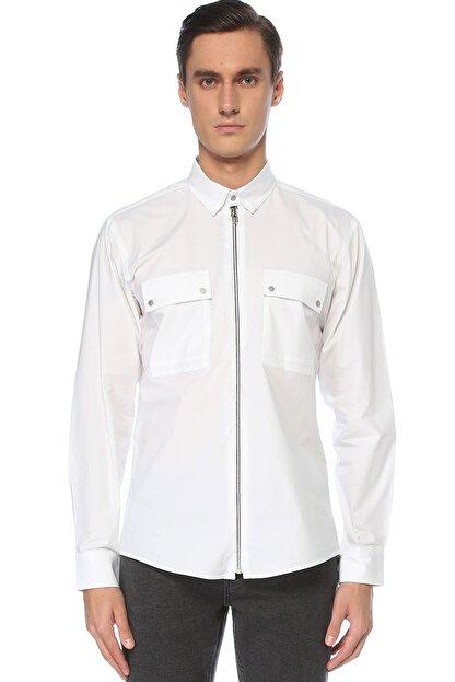 Network Erkek Beyaz Gömlek 1076256