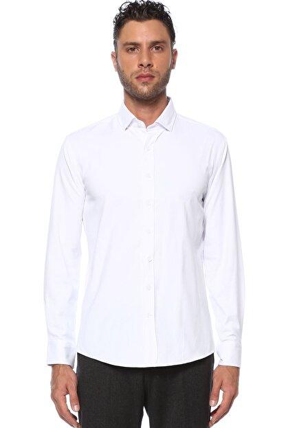 Network Erkek Beyaz Gömlek 1077283