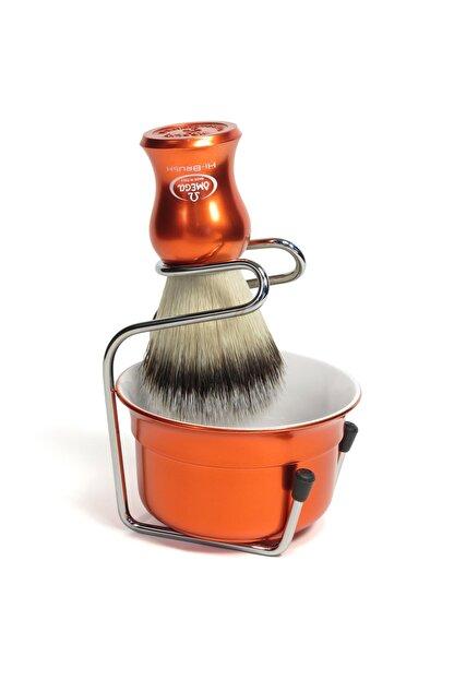 Omega Tıraş Fırçası Hi-brush Fiber+tıraş Tası Ve Kurutma Aparatı Vb065