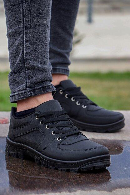 Polaris Petra Bağcıklı Kışlık Erkek Ayakkabı