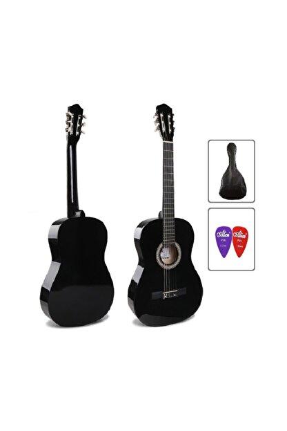 müzikhane 4/4 Tam Boy Siyah Klasik Gitar Kılıf Ve Pena