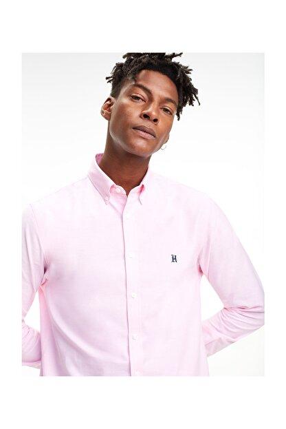 Tommy Hilfiger Erkek Pembe Gömlek Lh Icon Oxford Shırt MW0MW09398