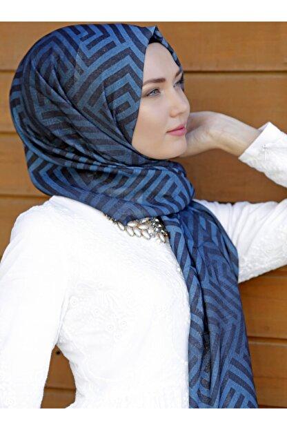 ŞALEVİ Kadın Turkuaz Mavi Şal