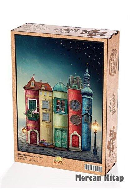 King Of Puzzle Fantastik Kitap Evler Ahşap Puzzle 2000 Parça (kt50-mm)