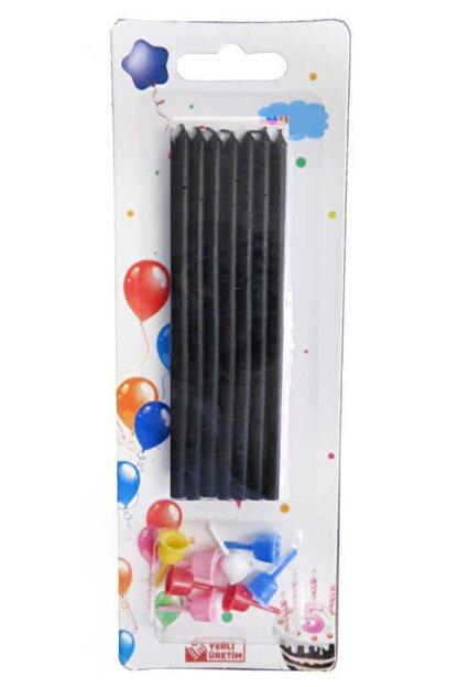 PiCare Siyah Pastel Mum 10 cm Ar5393sıyah