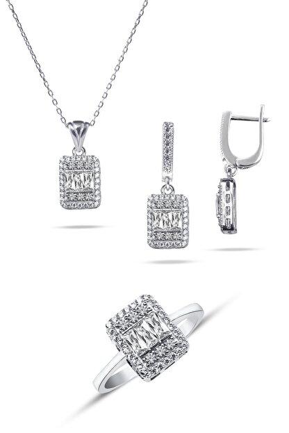 Emre Gümüş 925 Ayar Gümüş Baget Set