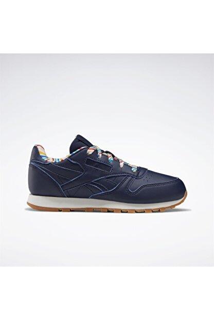 Reebok Çocuk Lacivert Classics Leather Günlük Spor Ayakkabı