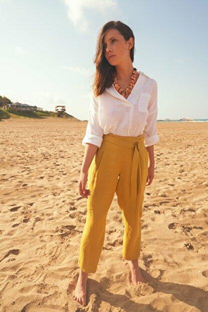 adL Kadın Lime Yüksek Bel Pantolon