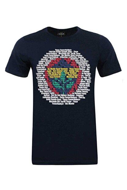 Fenerium Erkek Tribün Renkli Logo T-shırt-a-407-0-xs Tk010e9s05