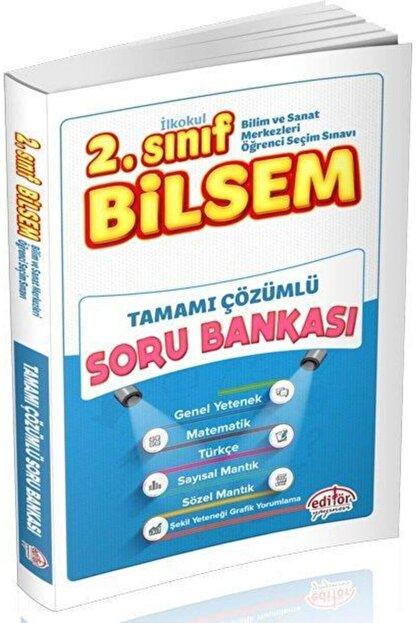 Editör Yayınları 2. Sınıf Bilsem Çözümlü Soru Bankası