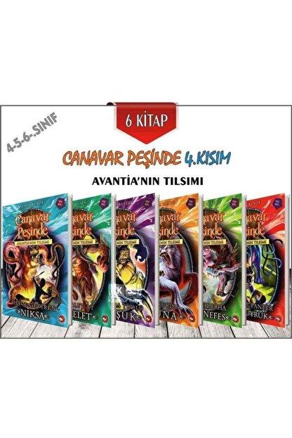 Beyaz Balina Yayınları Canavar Peşinde 4.kısım Avantia'nın Tılsımı 6 Kitap