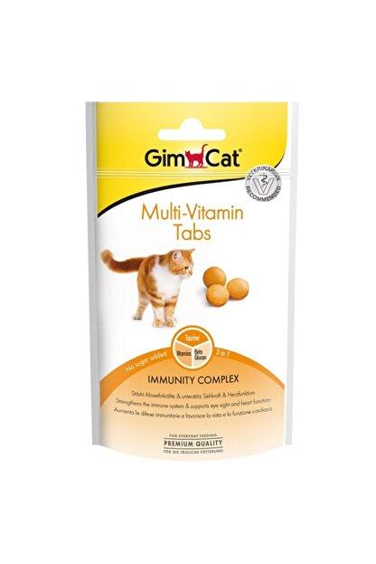 Gimcat Multi Vitamin Kedi Ödül Tableti 1 Adet 40gr X 4 Adet Arda004
