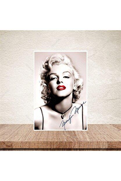 TAKIFİX Marilyn Monroe 20-30 Cm Retro Ahşap Poster