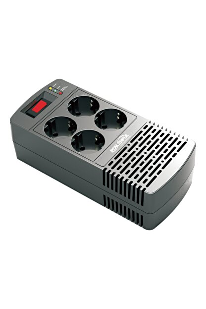 Powerful Avr-1000 1000va ( 600w) Buzdolabı / Kombi / Tv / Bilgisayar Voltaj Regülatörü