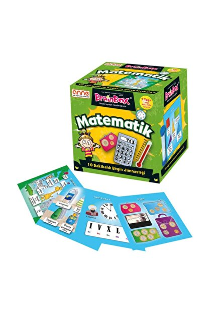 Green Board Games Brainbox Matematik (türkçe)