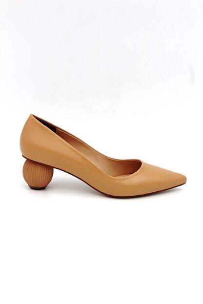 Tessera Kadın Bej Stiletto Ayakkabı