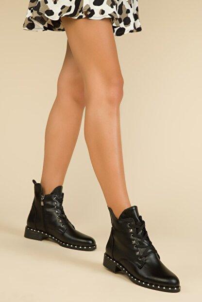 Wenti Shoes Kadın Siyah Günlük Bot Ws138