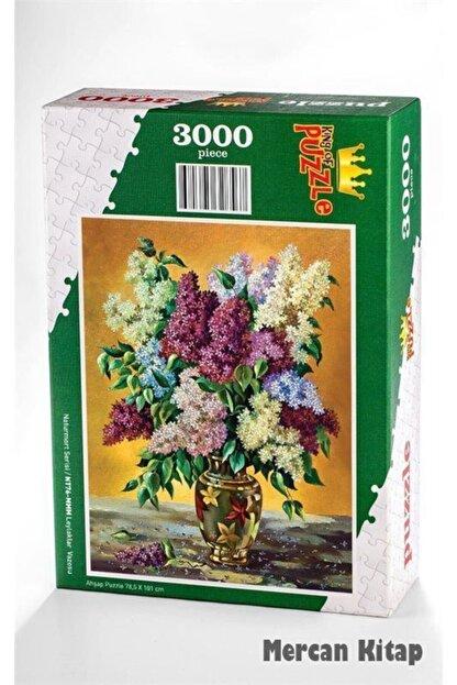 King Of Puzzle Leylaklar Vazosu Ahşap Puzzle 3000 Parça (nt76-mmm)