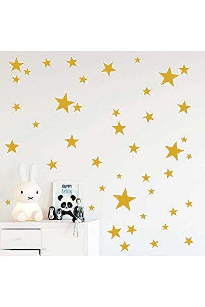 BugyBagy Yıldız Duvar Sticker 3-4-5cm 100 adet