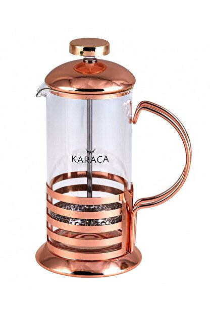 Karaca Coffee Bean French Press Bronze Linear 350 Ml