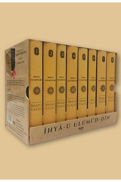 Çelik Yayınevi Ihya-u Ulumi'd-din (8 Cilt - Küçük Boy)