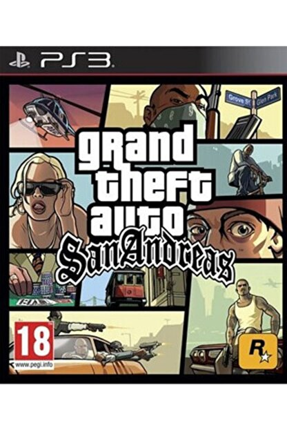 RockStar Games Gta San Andreas Ps3