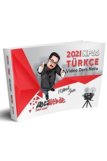Hoca Webde Hocawebde Yayınları 2021 Kpss Türkçe Video Ders Notu