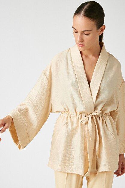 Koton Kadın Ekru Kimono&Kaftan 0YAK52508UW