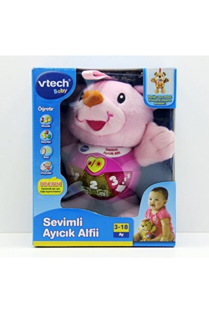 Vtech- Baby Sevimli Ayıcık Alfii