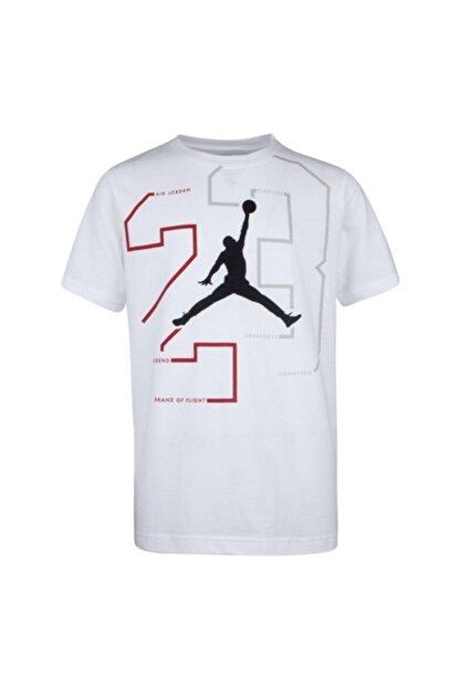 Nike Erkek Çocuk Beyaz Jordan Path Of Greatness T-Shirt 95a065-001