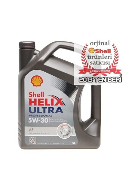 Shell Helix Ultra Pro Af 5w30 5 Litre