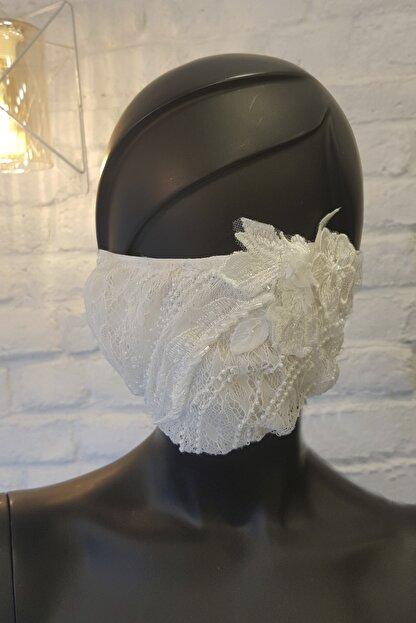 AS Brides Dantelli Gelin Maskesi 11