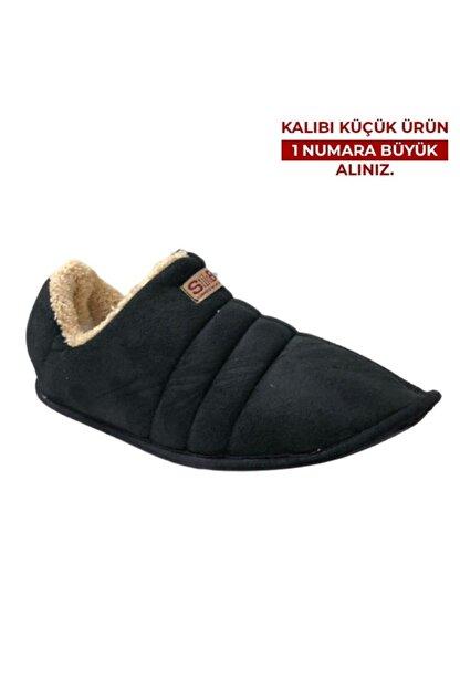 CEX Siyah Erkek Ev Ayakkabısı Panduf