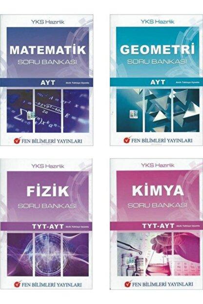 Fen Bilimleri Yayınları Fen Bilimler Yayınları Yks Tyt-ayt Sayısal 4 Lü Soru Bankası Set