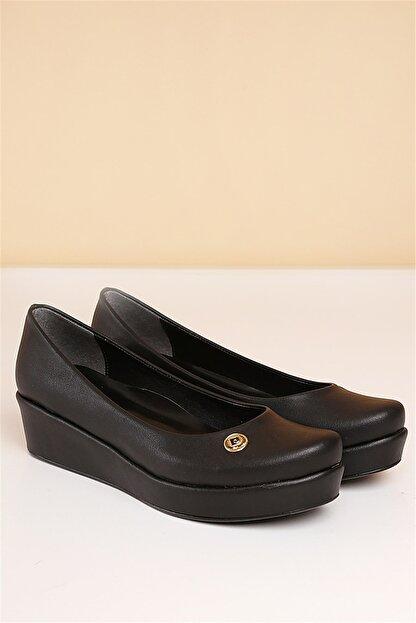 Pierre Cardin Pc-50086 Siyah Kadın Ayakkabı
