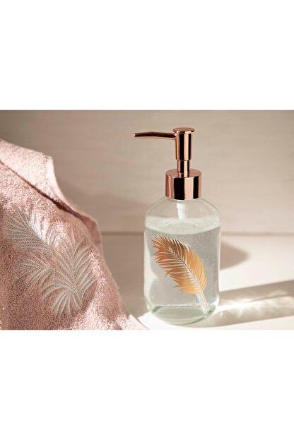 English Home Rose Gold Urban Pure Cam Banyo Sıvı Sabunluk 7,2x18,5 cm